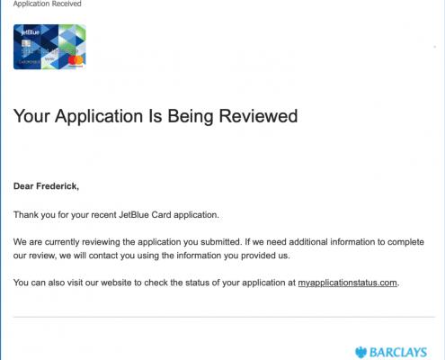 Applicaiton Review